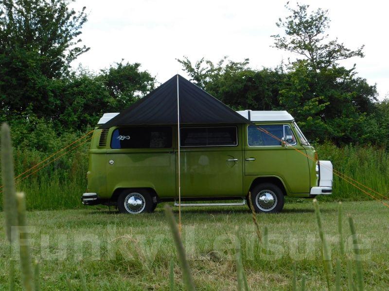 VW Type 2/T25 C&ervan Sun Canopy Awning u2013 Azure Blue & VW Type 2 T25 Campervan Sun Canopy Awning Azure Blue